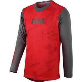 IXS Trigger X Air Maglietta Uomo, rosso/grigio
